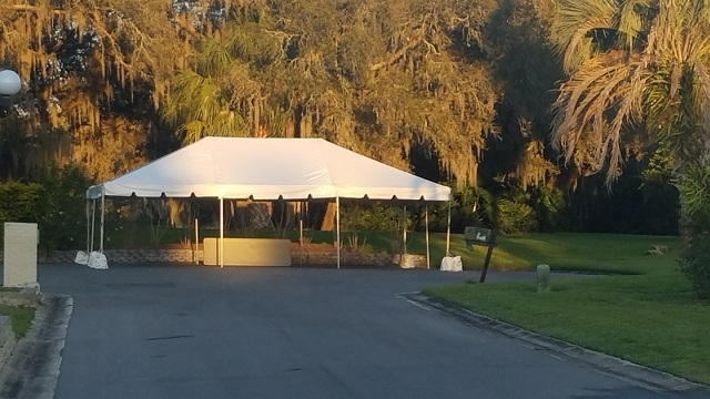 ... 20X30 CALIFORNIA FRAME TENT WITH CONCRETE BUCKETS ... & Party Rentals in Winter Haven FL | Event Rental Haines City FL ...