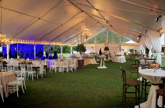 Keder Frame Tent Wedding
