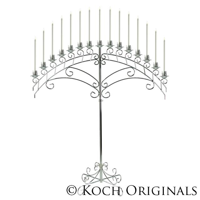 Where to find CANDELABRA SILVER FAN in Winter Haven