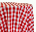 Rental store for LINEN 72X72 RED GINGHAM in Winter Haven FL