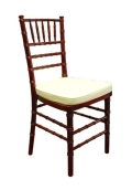 Rental store for CHAIR CHIVARI FRUITWOOD W CUSHION in Winter Haven FL