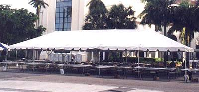 Where to find TENT 30X80 FRAME WHITE in Winter Haven
