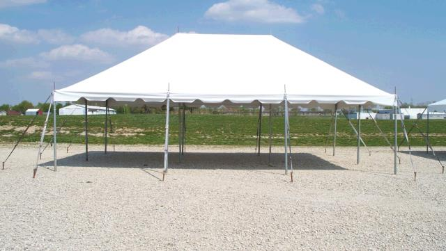 Where to find TENT 20X30 POLE WHITE in Winter Haven