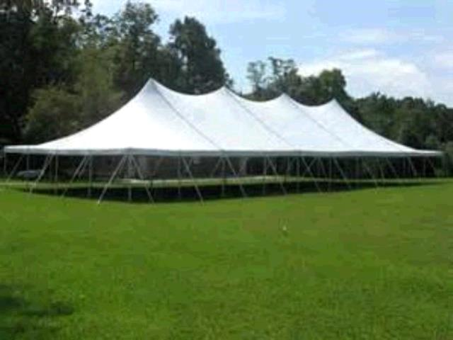 Where to find TENT 40X100 FRAME WHITE in Winter Haven