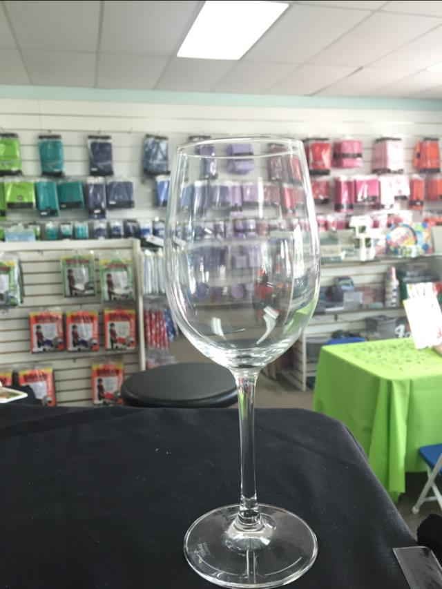 Where to find GLASS STEMWARE WINE 18OZ in Winter Haven