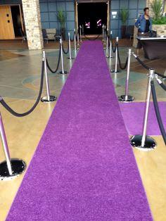 Where to find AISLE CARPET PURPLE 25 X4 in Winter Haven