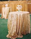 Rental store for LINEN 120 RD GOLD SEQUIN in Winter Haven FL