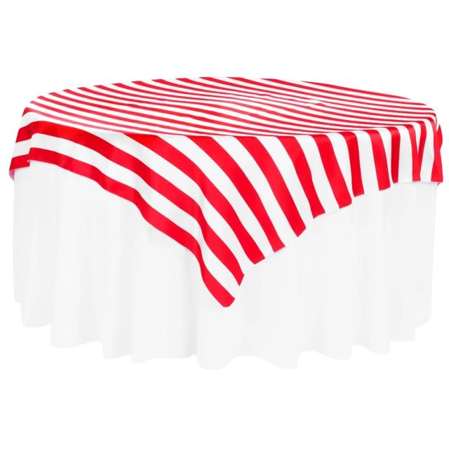 Where to find LINEN 54X54 RED STRIPE in Winter Haven