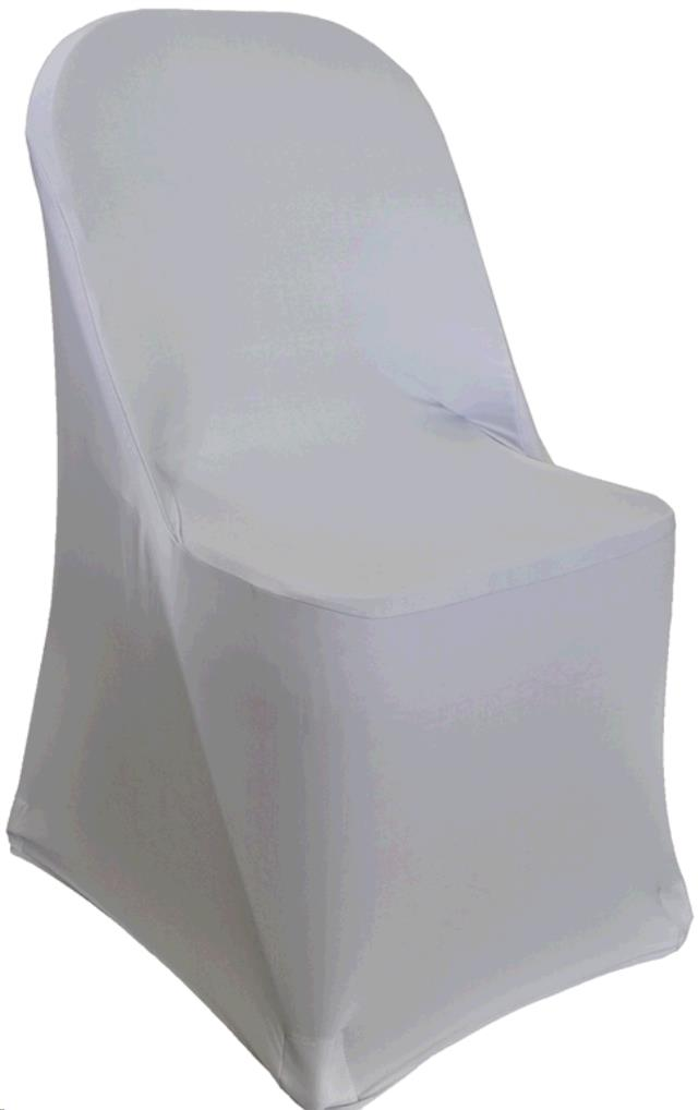 Where to find LINEN CHAIR COVER SPANDEX WHITE in Winter Haven