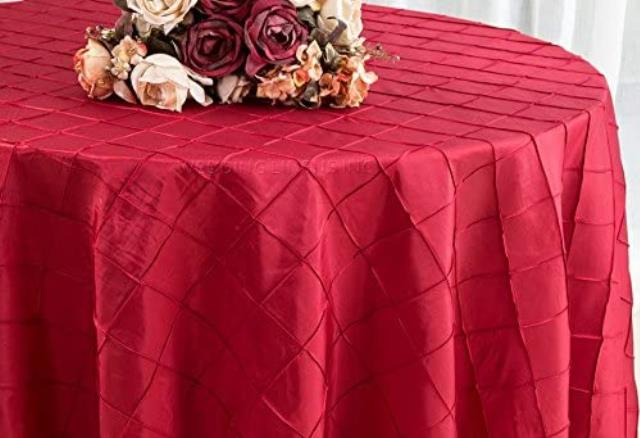 Where to find LINEN 108 RD PINTUCK RED in Winter Haven