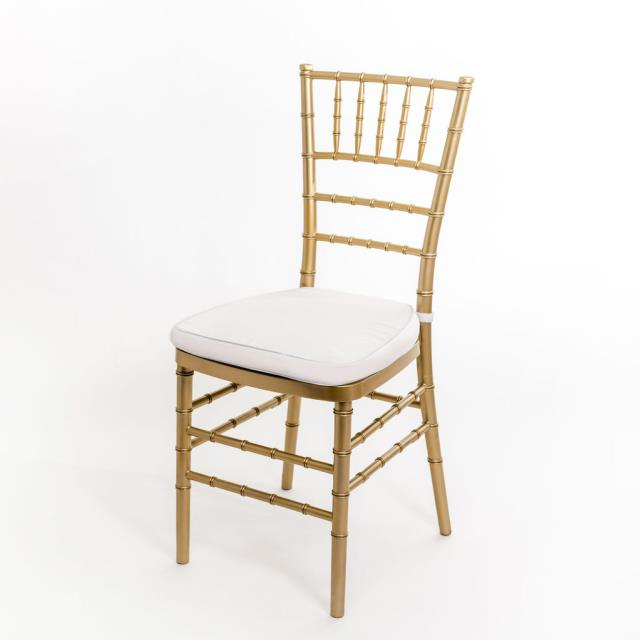 Where to find CHAIR CHIVARI GOLD W CUSHION in Winter Haven