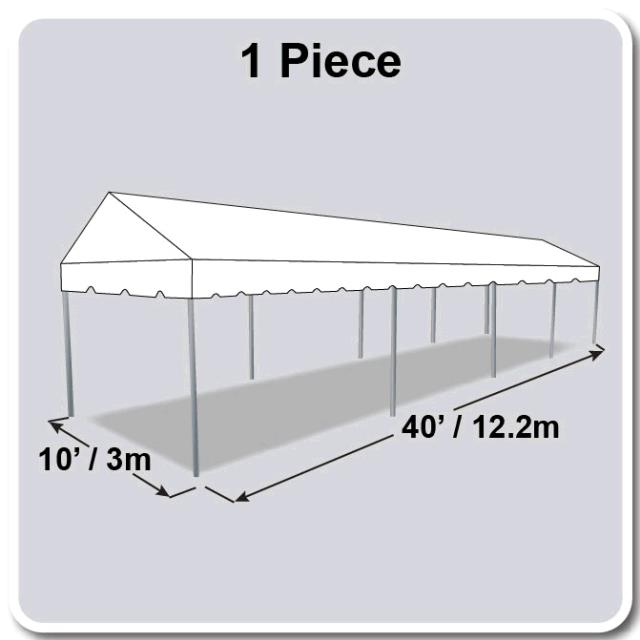 Where to find TENT 10X40 MARQUEE WHITE in Winter Haven