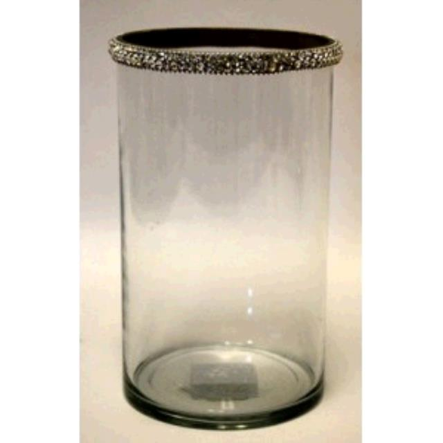 Where to find JEWELED GLASS CYLINDER LARGE in Winter Haven