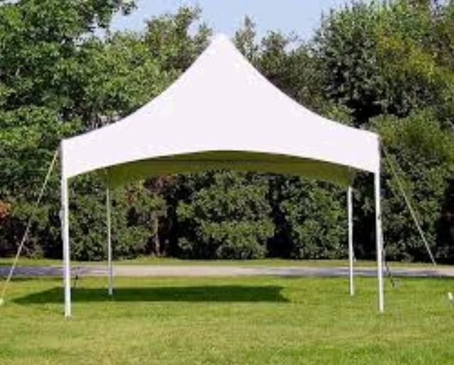 Where to find TENT 20X20 FRAME WHITE HIGH PEAK in Winter Haven
