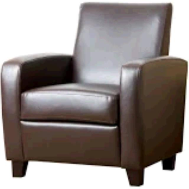 Where to find CHAIR BROWN LEATHER in Winter Haven
