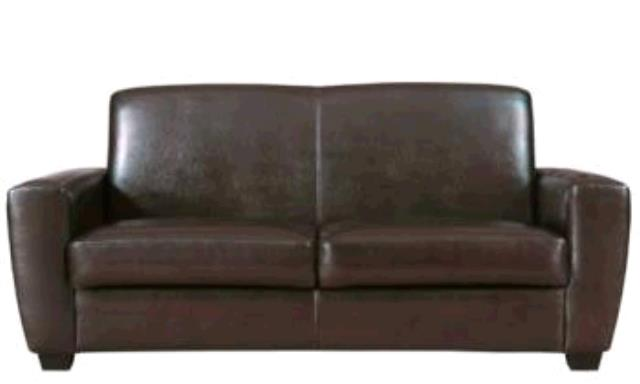 Where to find SOFA BROWN LEATHER in Winter Haven