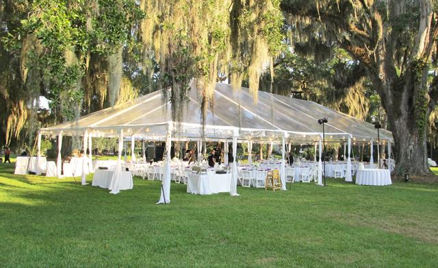 Where to find TENT 40X70 FUTURETRAC CLEAR in Winter Haven