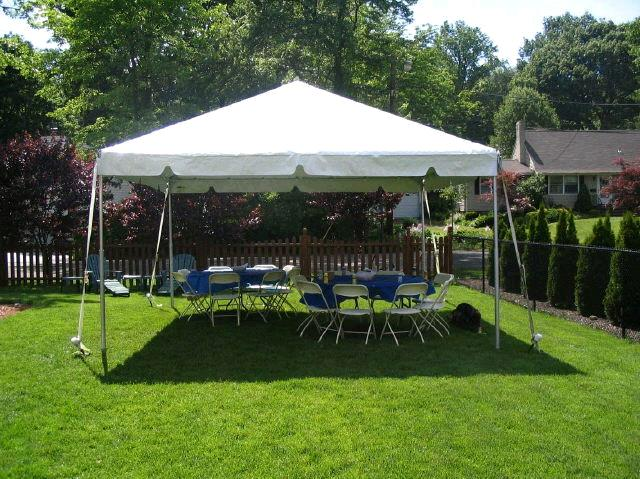 Where to find TENT 15X15 FRAME WHITE in Winter Haven