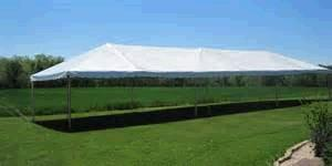 Where to find TENT 20X50 FRAME WHITE in Winter Haven