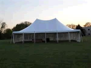 Where to find TENT 30X30 POLE WHITE 2PC in Winter Haven