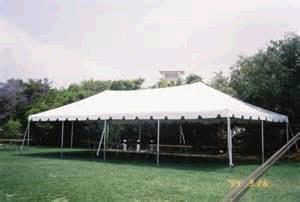 Where to find TENT 30X50 FRAME WHITE in Winter Haven