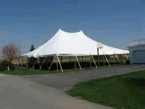 Where to find TENT 30X60 POLE WHITE in Winter Haven