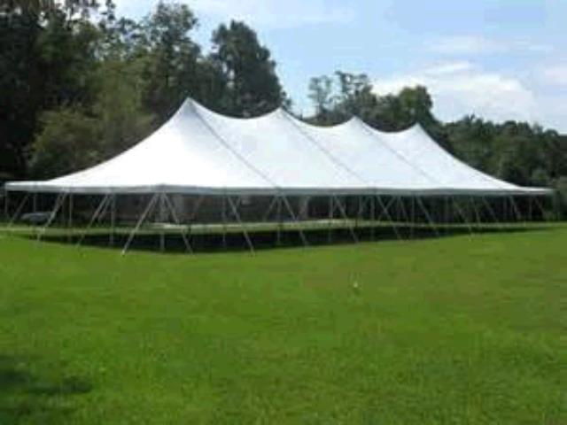 Where to find TENT 30X75 POLE WHITE in Winter Haven