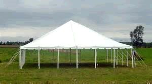Where to find TENT 40X40 POLE WHITE 2PC in Winter Haven